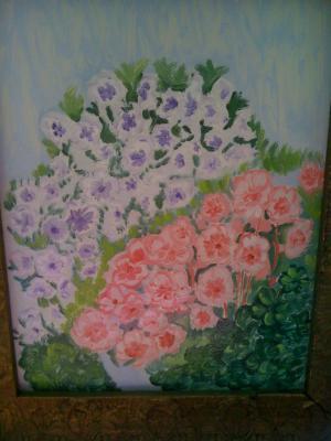 tablou cu muscate din gradina