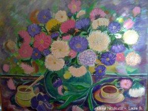 tablou culori si pasiunea pt flori 2012