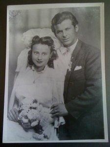 parintii mei la nunta lor dec