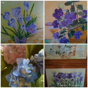 collage-cu-flori-si-picturi